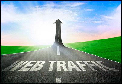 Трафик на веб-ресурс