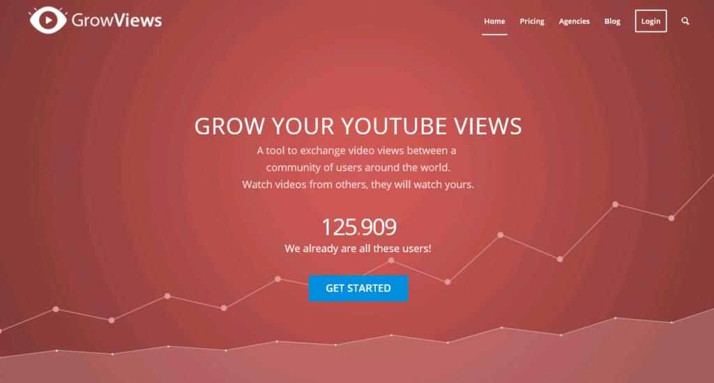 Grow Views сервис для раскрутки видео наYou Tube