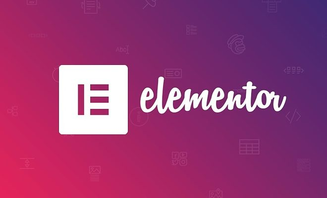 Создание сайта с помощью плагина Elementor